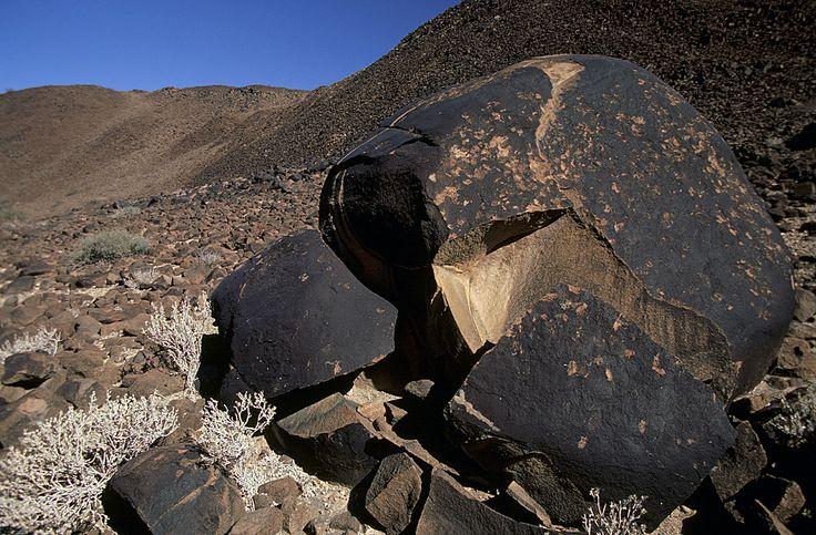Doros crater rock