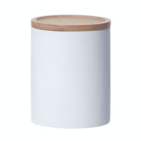 LET LIV - Large Kitchen Canister in White