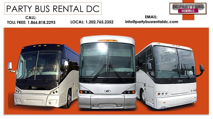Party bus rentals near me
