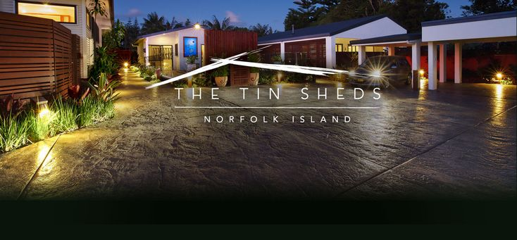 5 Star luxury on Norfolk Island The Tin Sheds