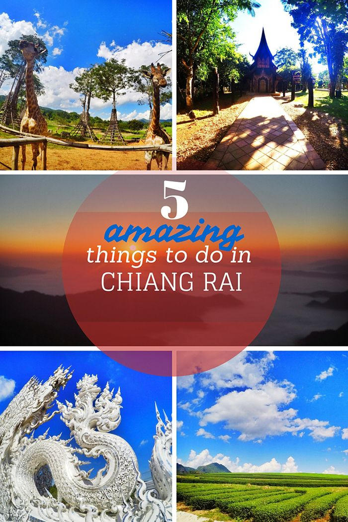 5 Amazing Things to do in Chiang Rai