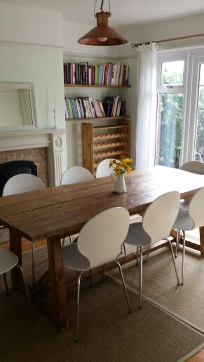 Dining room painted with Dulux Nordic Spa | House ...