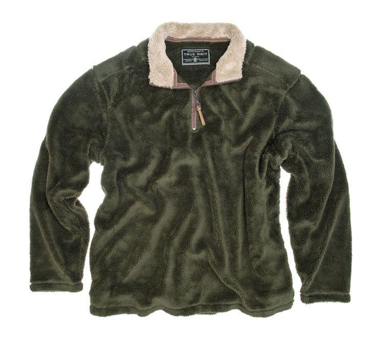 True Grit - Pebble Pile Zip Pullover