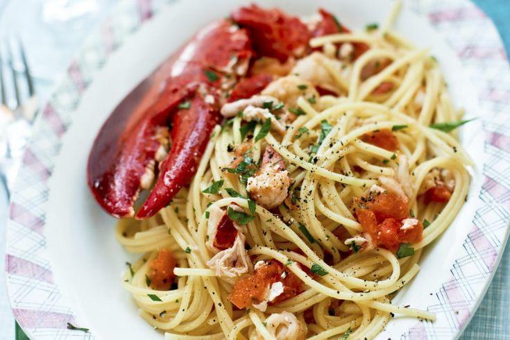 Recept från Zeta: Spaghetti med hummer