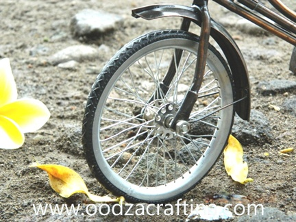 This miniature bike is from yogyakarta
