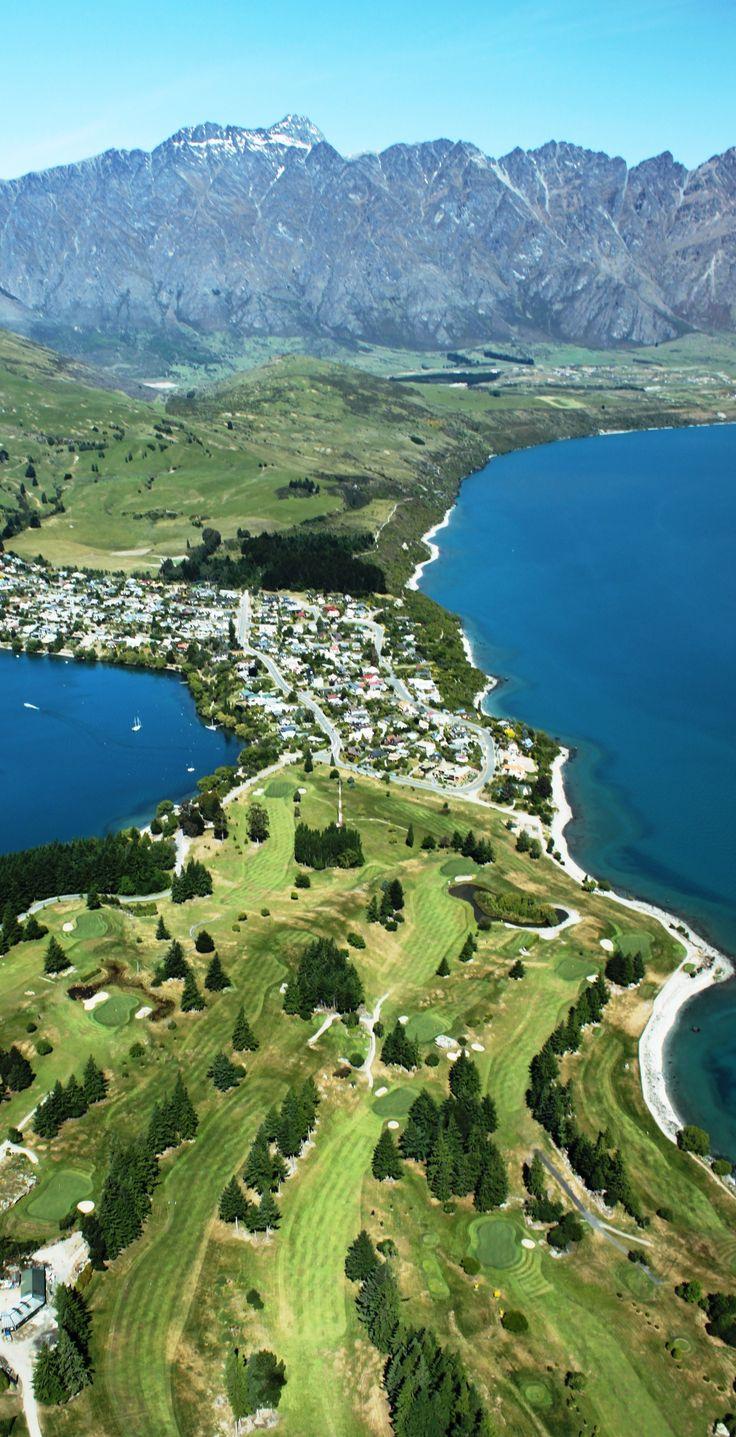 New Zealand - Lake Wakatipu, Queenstown, South Island, New Zealand