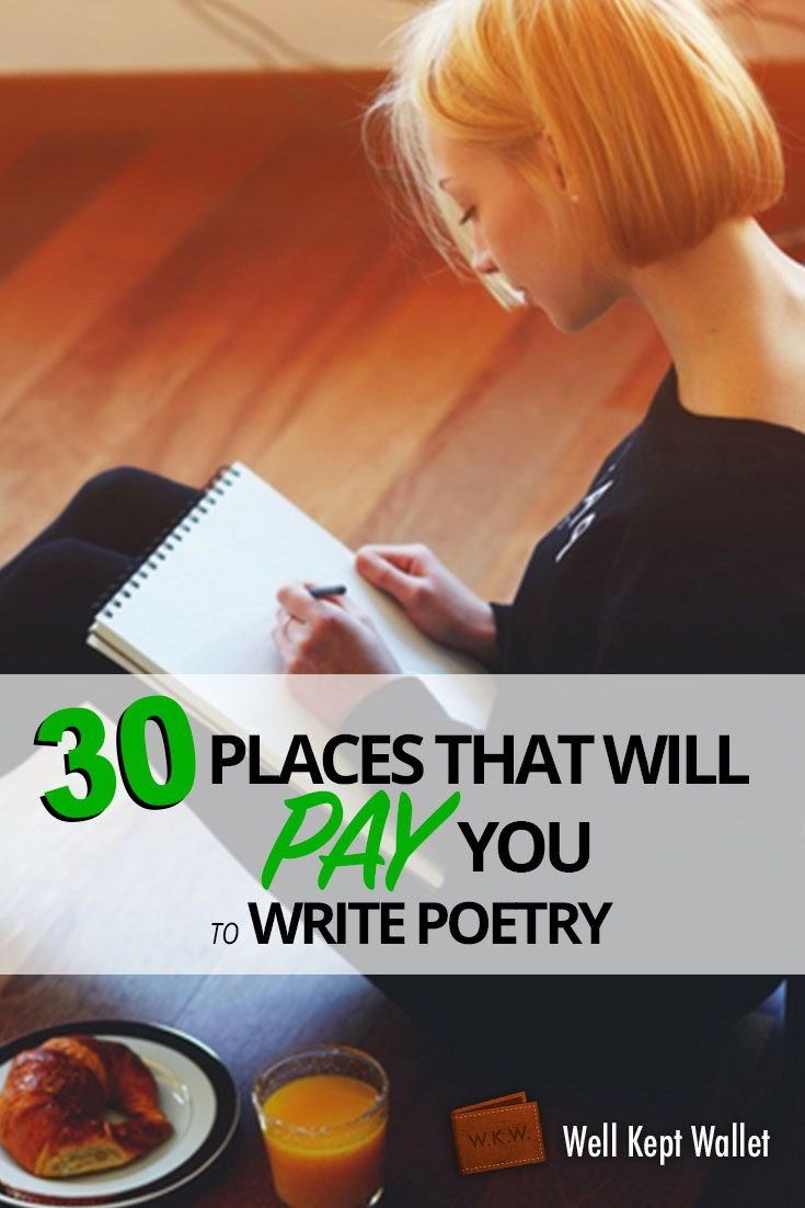 how to make money writing poetry Make money writing poetry 1 comment 5,736 views poetry writing is probably one of the best hobbies of some people there is a certain beauty in being able to express yourself through artistic lines and stanzas.