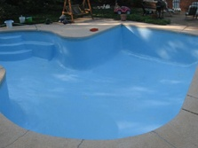 The whole process from start to finish took only 5 days. With only 3 days of actual work. Prep was key in making this swimming pool look so great and last so long.
