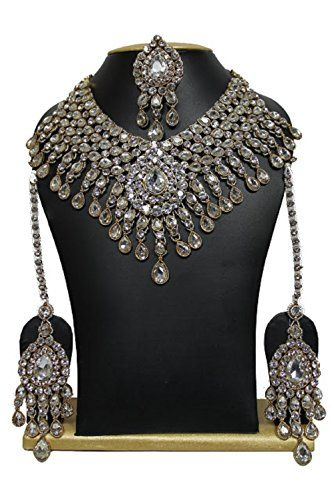 Latest Bollywood Designer Kundan Stone Jewellery Necklace... https://www.amazon.ca/dp/B01M35TB3K/ref=cm_sw_r_pi_dp_x_Lu6WybZ9NHJ2Z