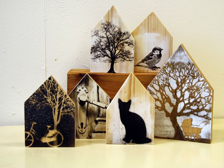 Saskia Obdeijn - Huisjes van hout