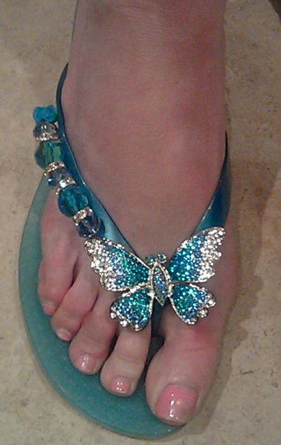 Flights of Fancy  By Flipinista, Your BFF  Registered Trademark <3  guess I am just going to have to start wearing flip flops, these are so cute
