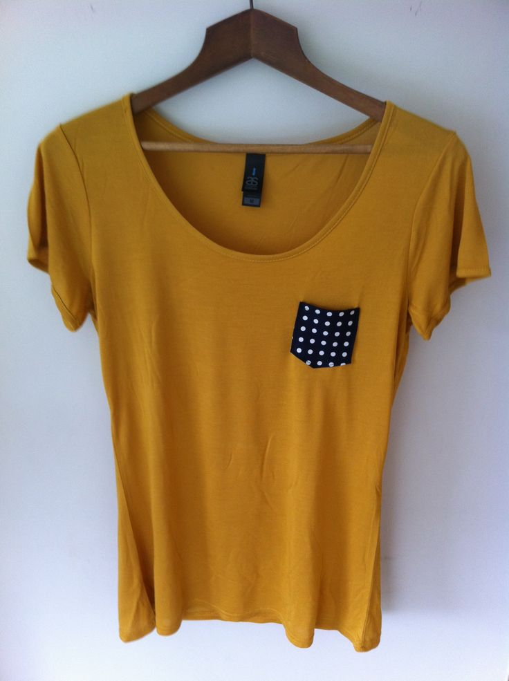 Froufrou patch pocket tee