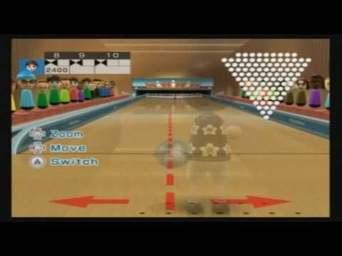 Wii Sports Resort - 100 Pin Bowling - Perfect Game (3,000) - (More info on: https://1-W-W.COM/Bowling/wii-sports-resort-100-pin-bowling-perfect-game-3000/)