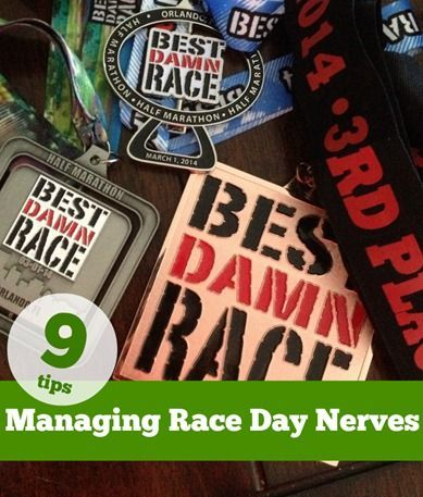 Tips for Managing Race Day Nerves -- Click fo tips to ensure they don't derail a…