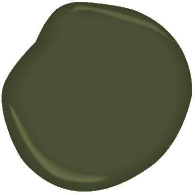 Windsor Green CW-505 Paint - Benjamin Moore Windsor Green Paint Color Details
