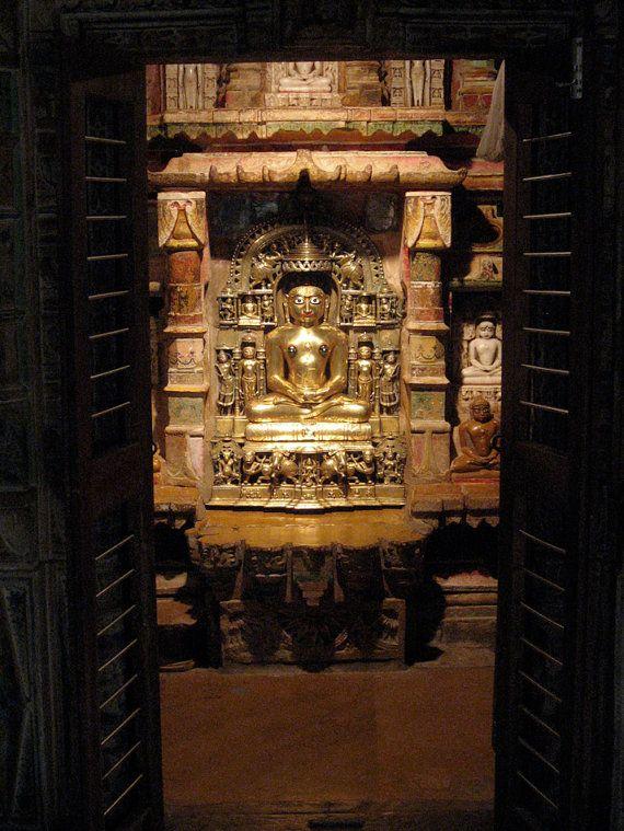 Tirthankara Jain Temple Jaisalmer Rajasthan India 8X10 Photograph chamelagiri.etsy.com