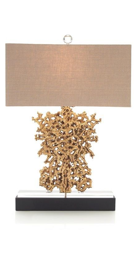 Shop For John Richard Gold Rush And Other Lamps And Lighting At Greenbaum Interiors In Paterson Nj Morristown Nj Large Golden Nugget Formation Task Lamp