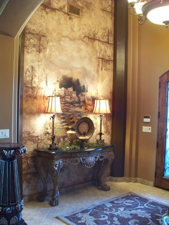 Mediterranean entry photos foyer design pictures remodel decor and ideas page 33 walls
