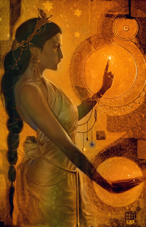 """Pandia`s name meant """"All Bright"""" and she was the Goddess of the Brightness, especially the Sun. She may have also been the Goddess of the Full Moon, as she was the mate of Zeus in his epithet of Zeus Pandion (the Full Moon God)."""