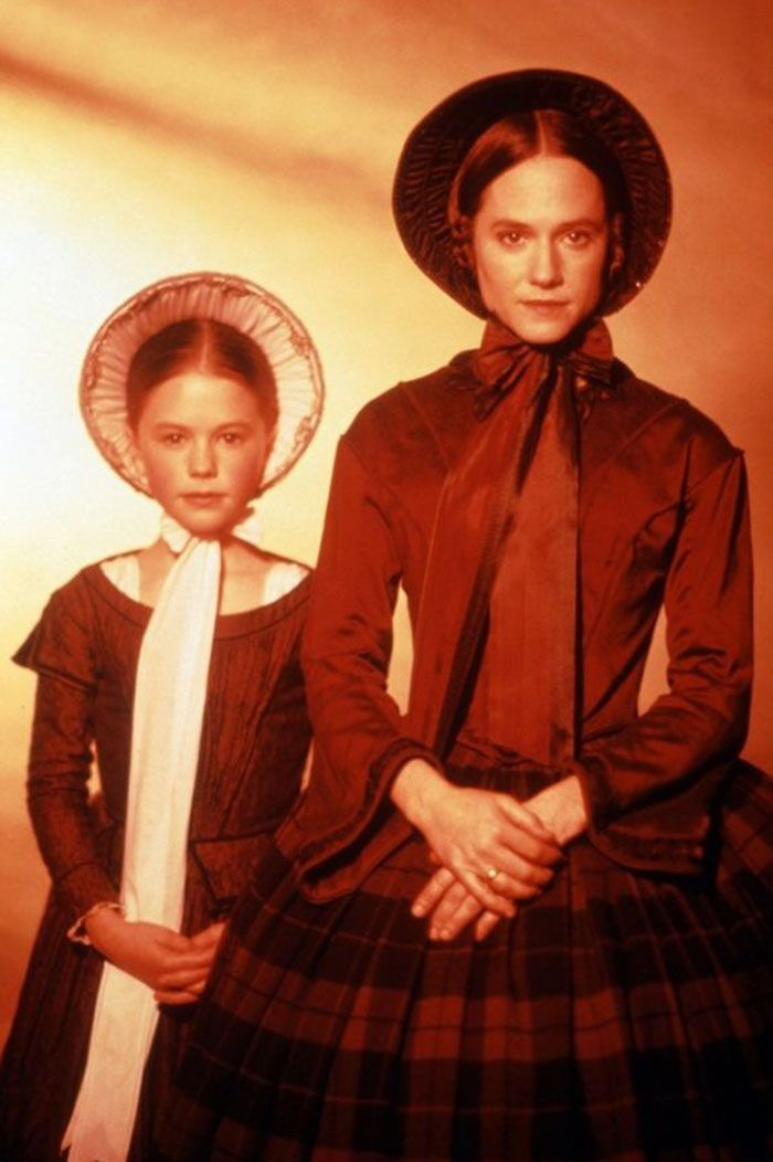 """Anna Paquin y Holly Hunter en """"El Piano"""" (The Piano), 1993"""