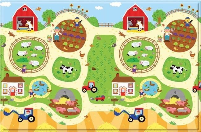 http://www.shopplaypens.co.za/product/busy-farm/About the Mat:•Premium…