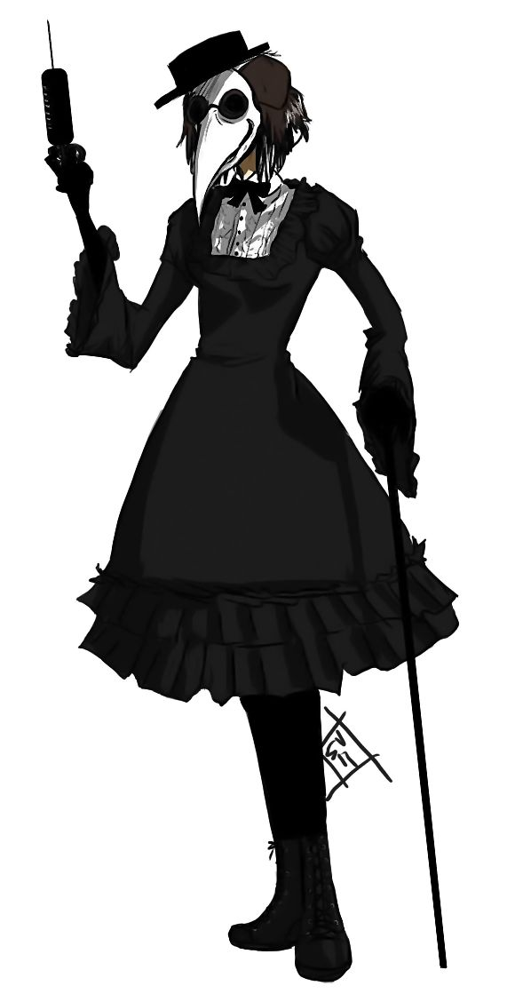 female plague doctor costume - Google Search