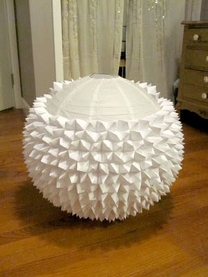 Beautifully Contained: Fortune-teller Paper Lantern_http://beautifullycontained.blogspot.fr/2012/04/fortune-teller-paper-lantern.html