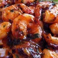 Camarones Enchipotlados (Shrimp in Chipotle Sauce)