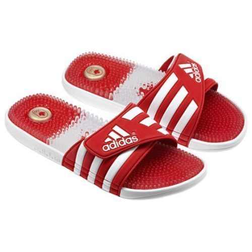 new arrival 58235 9d776 ADIDAS Womens COC Adissage Slide Sport Canadian Olympic SANDALS  adidas   Slides   shoes in 2019   Adidas slides, Adidas, Adidas women