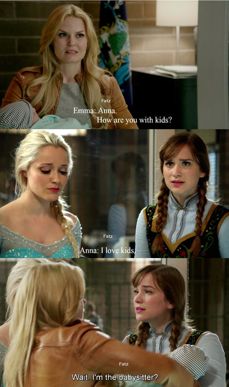 """""""Wait. I'm the baby sitter?"""" Anna and Emma - 4 * 10 """" Shattered Sight"""""""