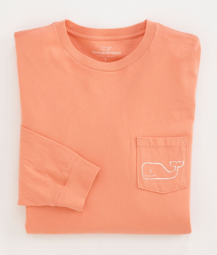 Long-Sleeve Vinyard Vines t shirt. Love this color!!