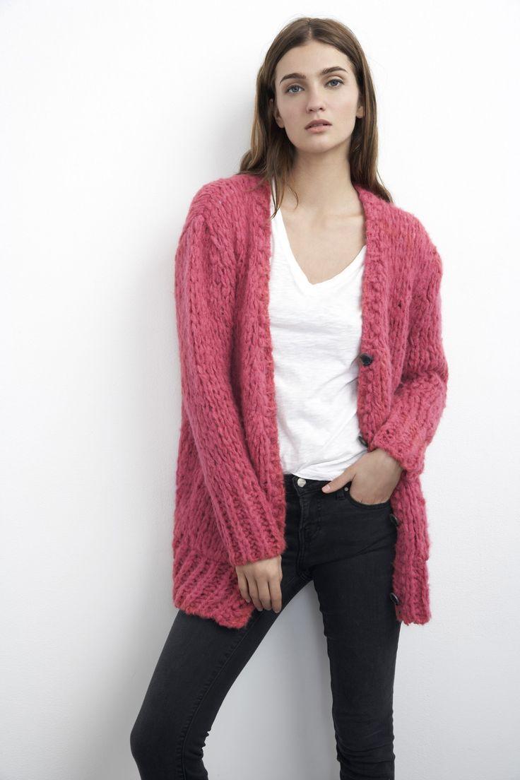 Cozy Oversized Sweater Cardigan | Velvet | Style | Pinterest ...