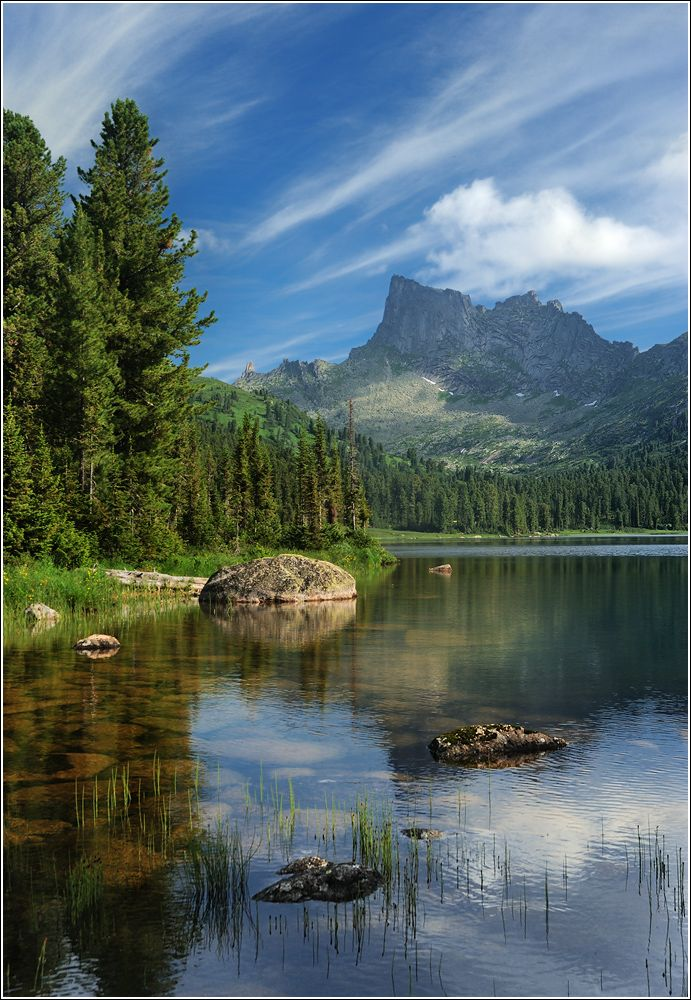 Озеро Светлое. Озеро Светлое. Хребет Ергаки. Западные Саяны. Восточная Сибирь…