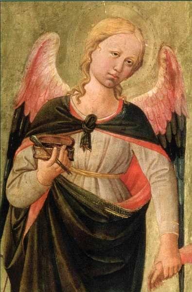 Доменико ди Микелино. Три архангела и Товий. Около 1465 г.