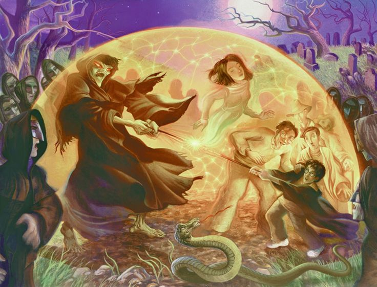 Harry Potter - The Golden Web - Mary GrandPre - World-Wide-Art.com - #harrypotter #jkrowling #marygrandpre