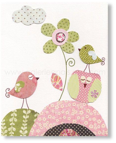 E passarinhos