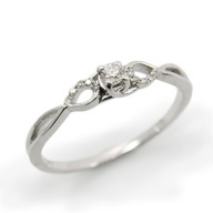 gorgeous simple engagement ring for $520