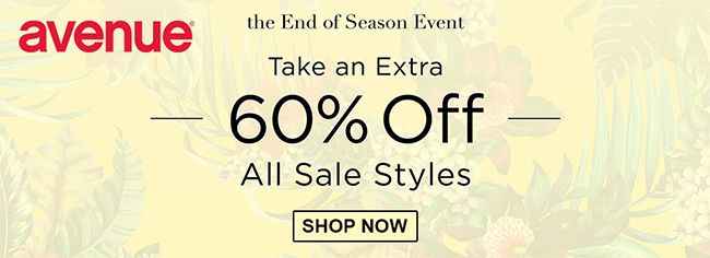 Online Take An Extra 60 Off All Sale Styles Store Avenue Scope Entire Store Ends On 04 21 2020 More Deals Htt In 2020 Local Coupons Online Coupons Coupons