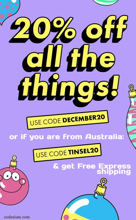 2 new codes you can use before Xmas. http://www.codesium.com/asos-discount-code/ With free express delivery (AUS only)