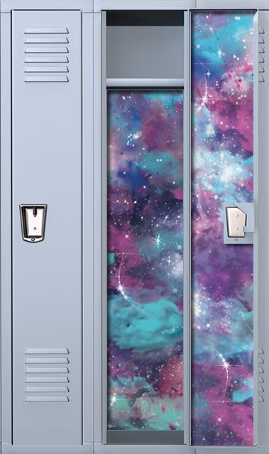 Nebulized Night School Locker Wallpaper