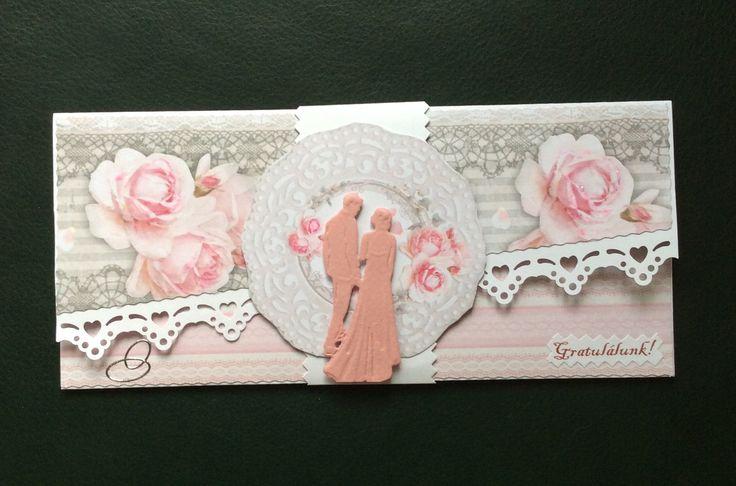 Esküvői ajándék boríték