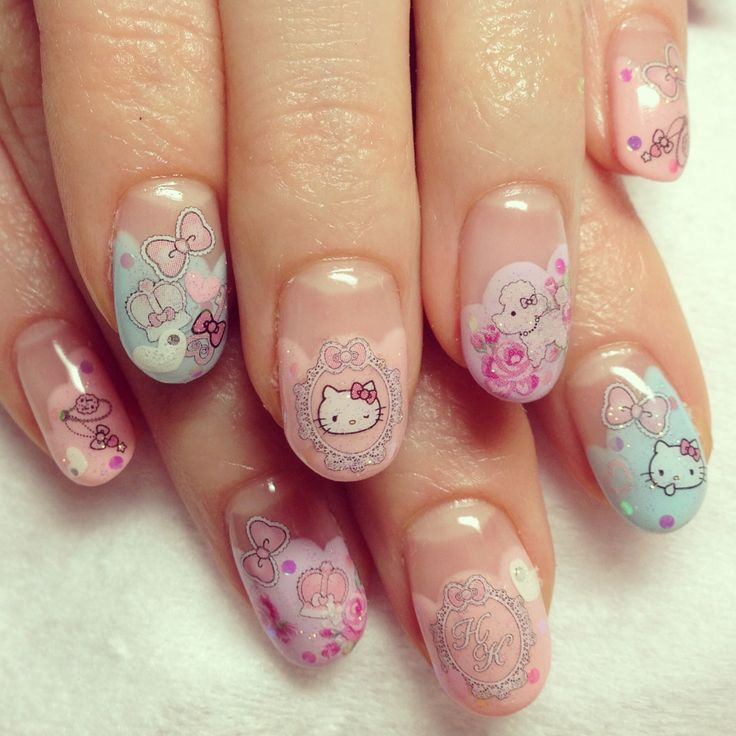 25 trending hello kitty nails ideas on pinterest kitty nails hello kitty dollhouse photo prinsesfo Gallery
