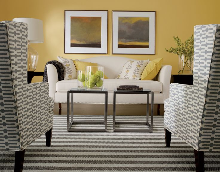 Parker Chairs Play Well In Pairs! Ethan Allen Living Rooms. Part 89