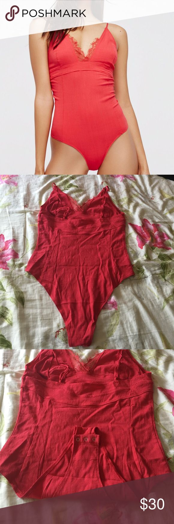 Free People Bodysuit Free People Poppy Bodysuit. Size Medium. Brand new with tags (NWT) Free People Tops