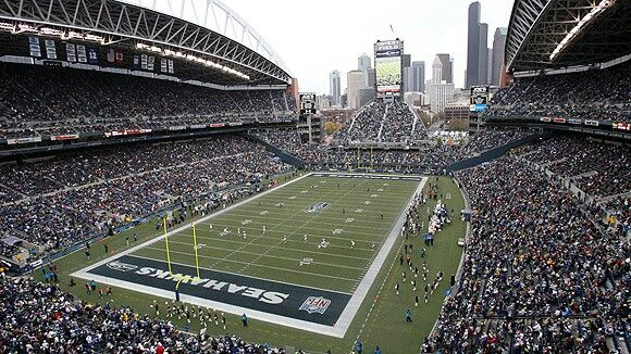 CenturyLink Field - Home of the Seahawks and Sounders FC! #Sounders #GoHawks