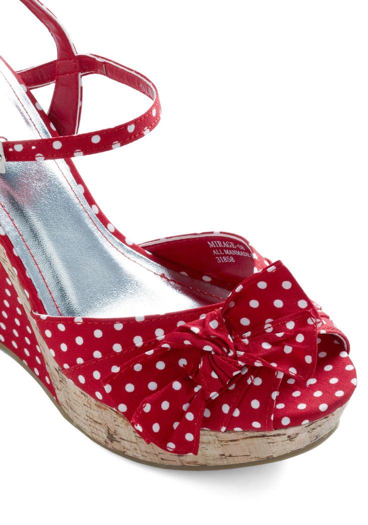 Polka Dot Dress Shoes