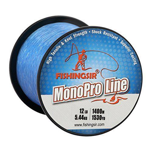 Comprar carrete de sufcasting Línea de pesca de alto impacto de monofilamento de trucha de lubina carpa de salmón Pike azul