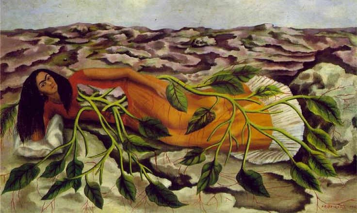 1943 Roots (Raices) (2). Фрида Кало. Описание картины, скачать репродукцию.