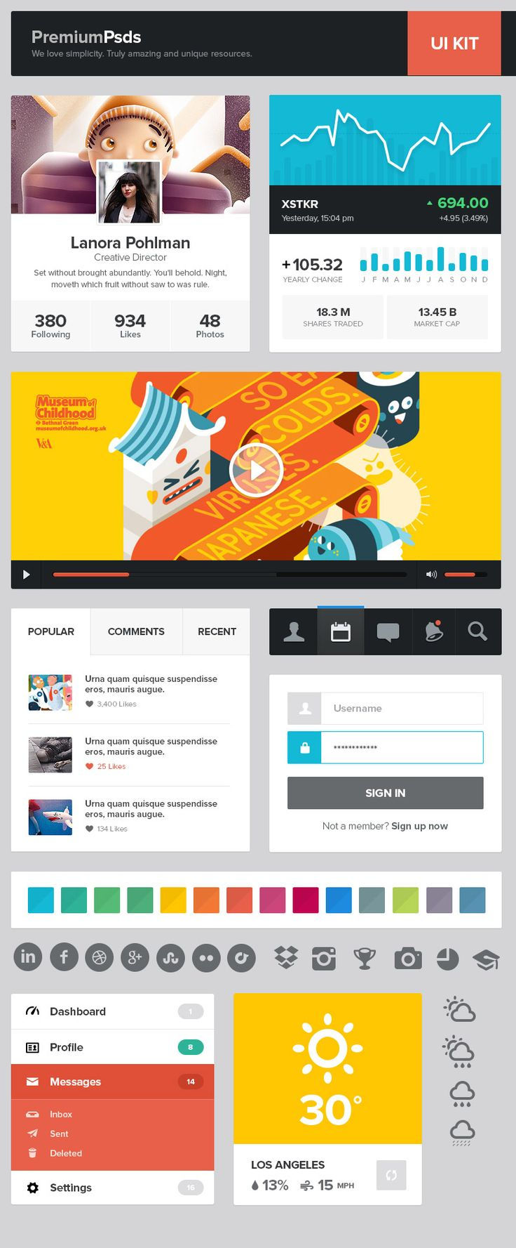 17 best images about design resources fonts in this roundup you will photoshop ui design components web templates login form landing pages flat kits iphone ipad mockups psd menus for
