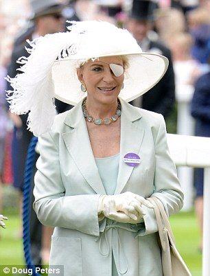 Princess Michael of Kent had a cornea transplant